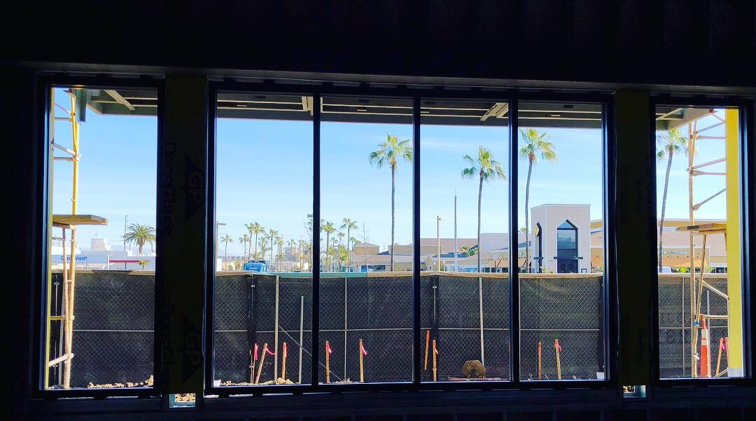 Progress On 2nd & PCH Project In Long Beach | Broadway Glass